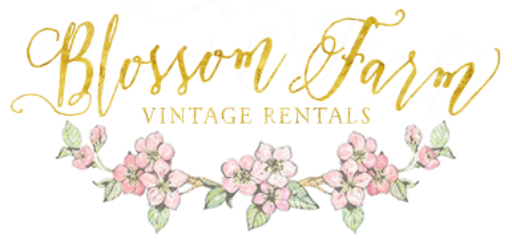 BLOSSOM FARM VINTAGE WEDDING RENTALS